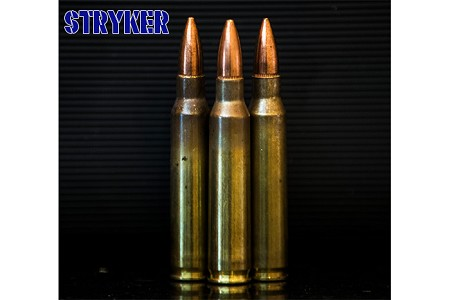 Stryker 223 -  62 gr FMJ M855 Steel Core -1,000 Rounds (From Never Fired LC Brass/Pulled Bullets)