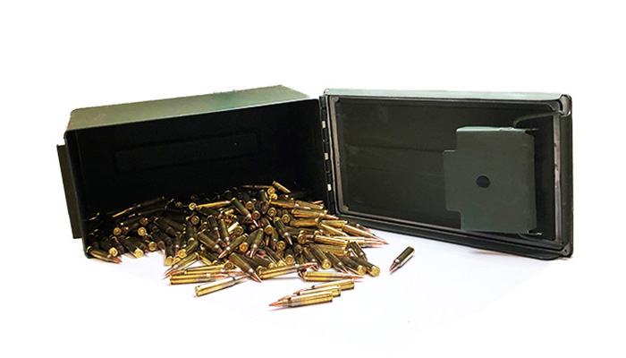 STRYKER - 5.56 M855 STEEL CORE 62 GR FMJ (Ammo Can Included) - 1000 AC