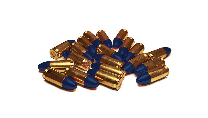 BULLETS 1ST - REMAN 9MM POLYMER COATED 115 GR RN - 500 CT